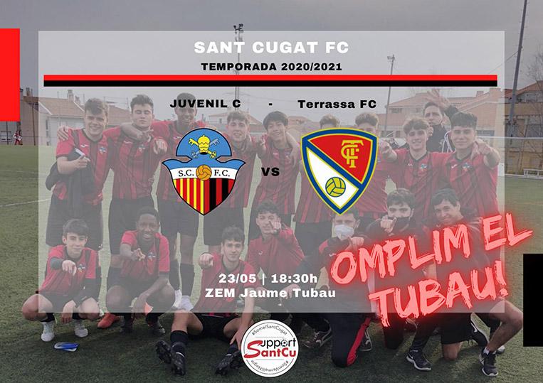 """El partit 23/5/21: Futbol Juvenil entre en Sant Cugat Esport F.C. """"C"""" – Fundació Terrassa FC 1906 """"C"""""""