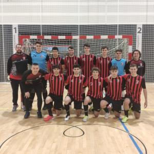 """El partit 12/6/21: El Juvenil """"A"""" del Futbol Sala Sant Cugat es juga les possibilitats d'accedir al play off d'ascens davant el C.E. Rubí F.S. """"A""""."""
