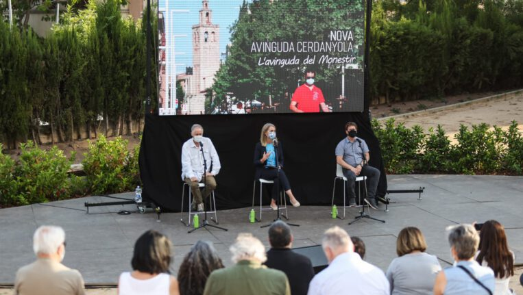 Les obres per allargar la vianantització de l'avinguda Cerdanyola començaran l'estiu vinent