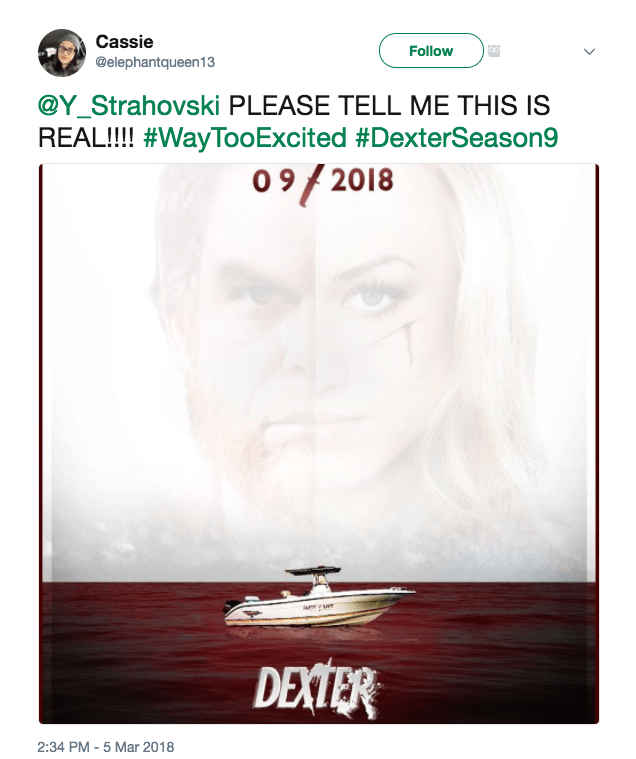 New Poster Of Dexter