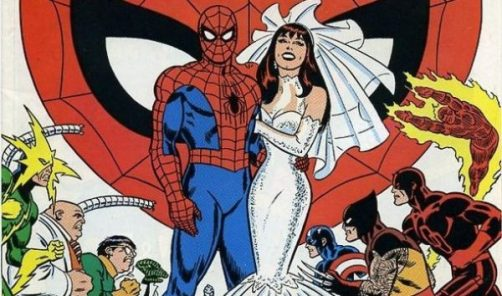 Spiderman And Mary Jane wedding