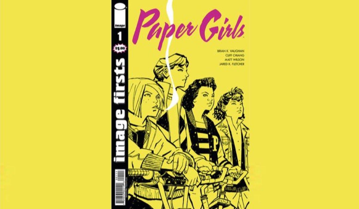 Copertina del fumetto Paper Girls. Credits - Image Comics