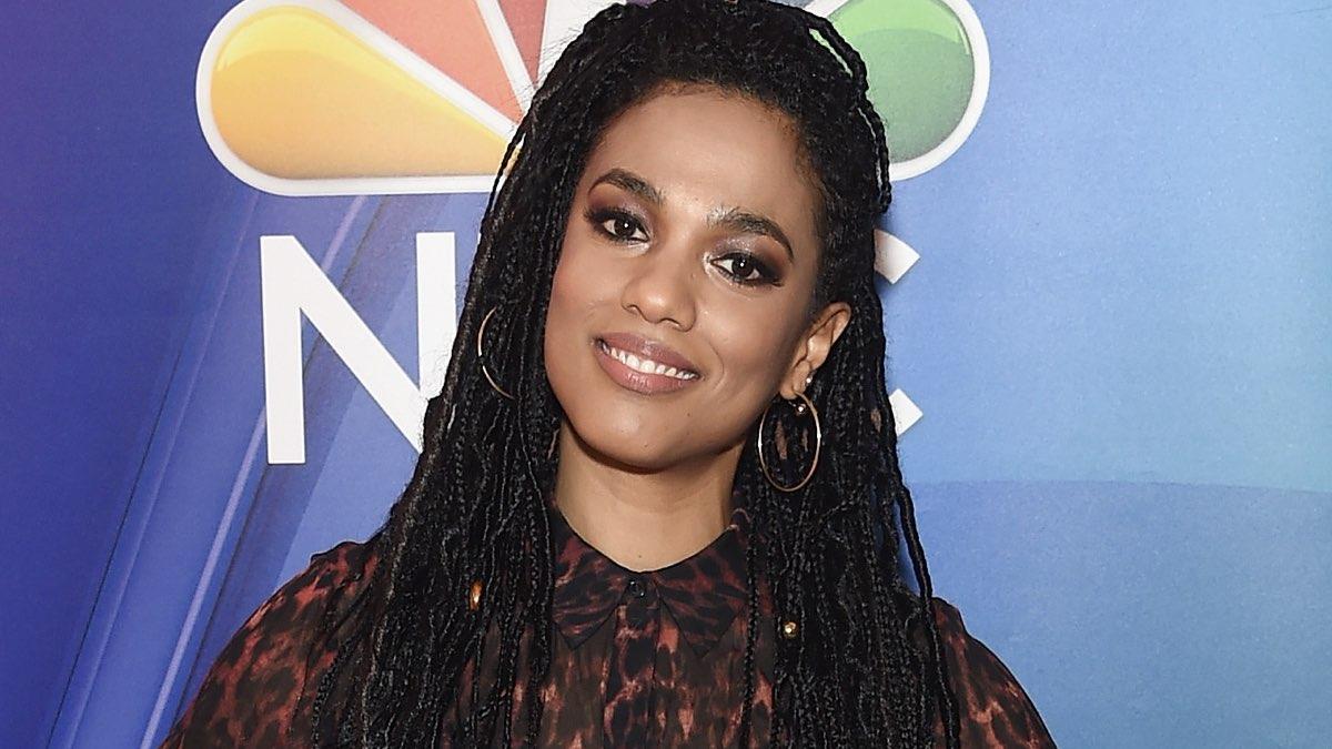 Freema Agyeman attends NBC's New York Mid Season Press, Credits Jamie McCarthy e Getty Images