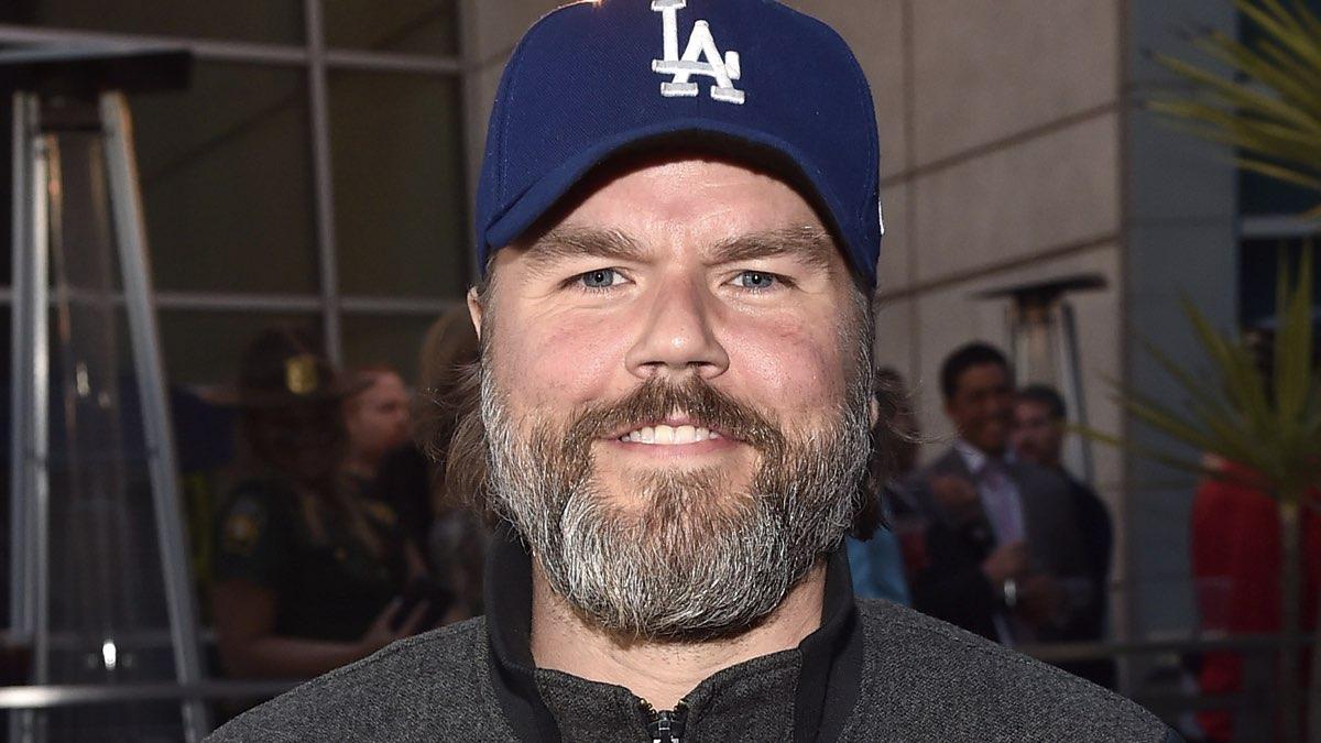 Tyler Labine attend the premiere of Fox Searchlight's Super Troopers 2, Credits Alberto E. Rodriguez e Getty Images