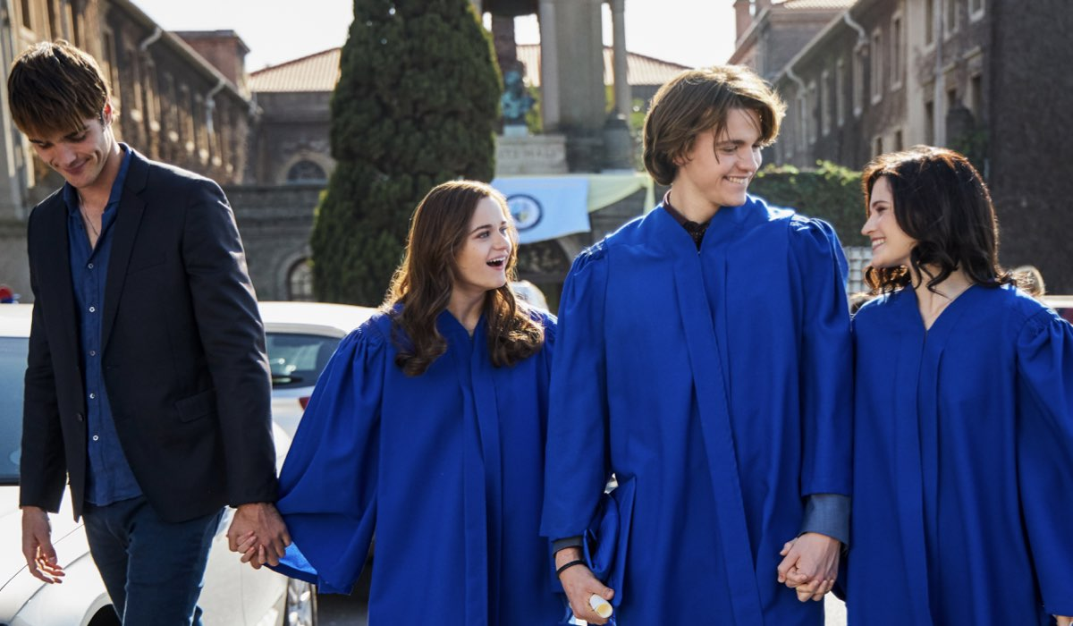 The Kissing Booth 2 Jacob Elordi, Joey Kings, Joel Courtney, Meganne Young Credits Marcos Cruz e Netflix 2020