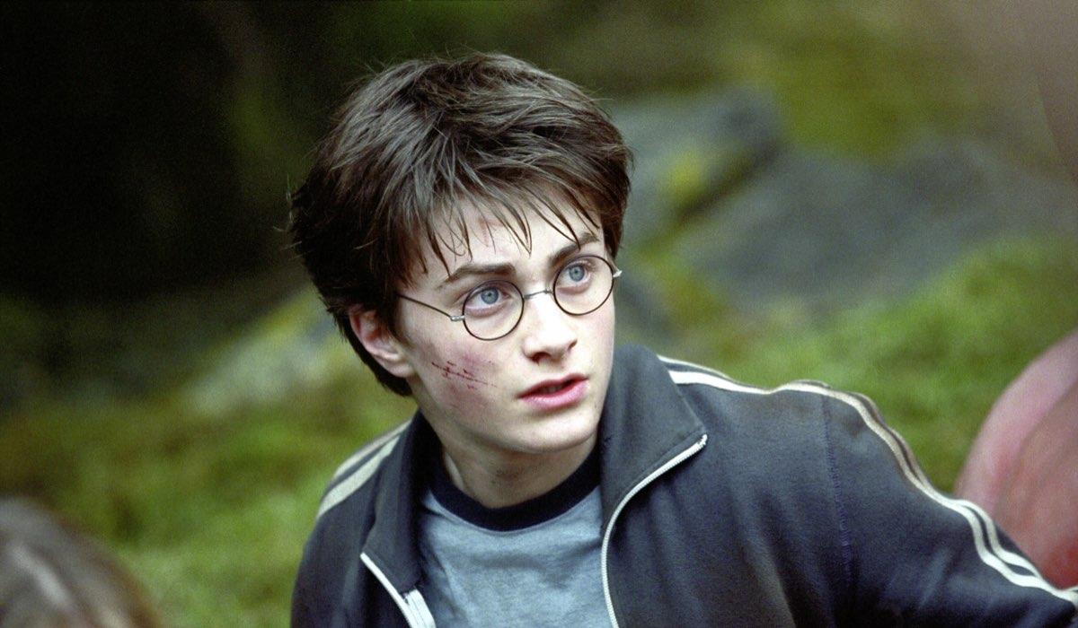 Daniel Radcliffe è Harry Potter in Harry Potter e il prigioniero di Azkaban, Credits Warner Bros e Mediaset