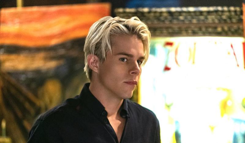 Jake Manley nei panni di Jack Morton in The Order 2 credits Daniel Power e Netflix