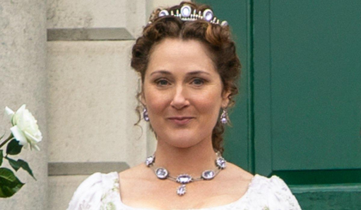 Ruth Gemmell Interpreta Lady Violet In Bridgerton, Credits Liam Daniel/Netflix