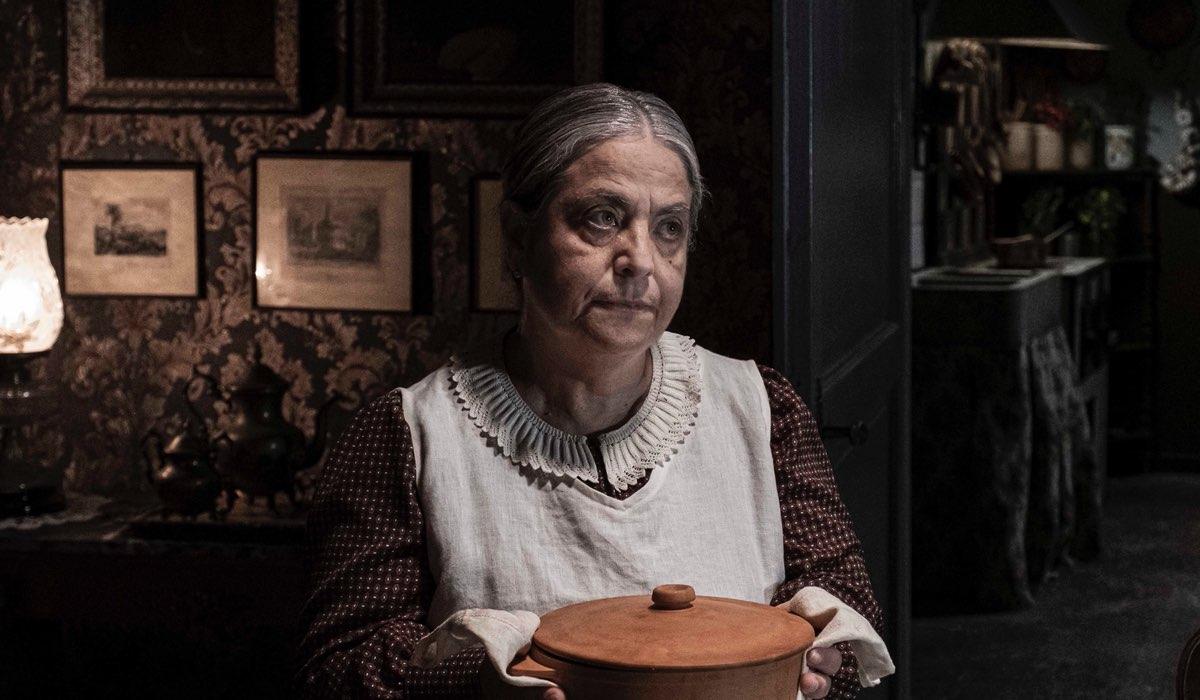 Nunzia Schiano Interpreta Rosa ne Il Commissario Ricciardi. Credits: Anna Camerlingo/Rai