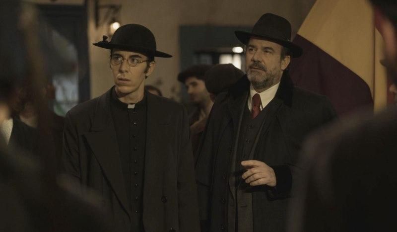 Don Filiberto e Ignacio Solozabal Ne Il Segreto. Credits: Mediaset