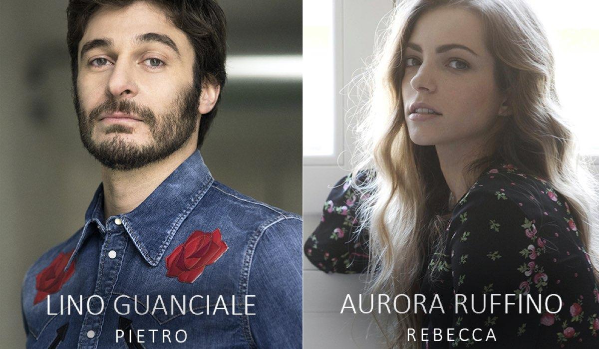 Da sinistra: Lino Guanciale e Aurora Ruffino. Ph Credits: Manuel Scrima/Alessandro Pizzi.