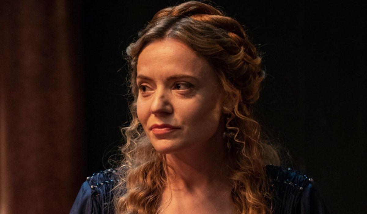 Christine Bottomley Interpreta Scribonia In Domina. Credits: Sky