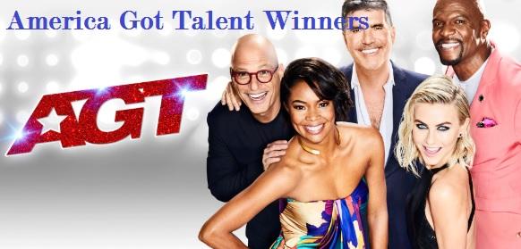 America Got Talent Winners, Finalist, Judges list, name