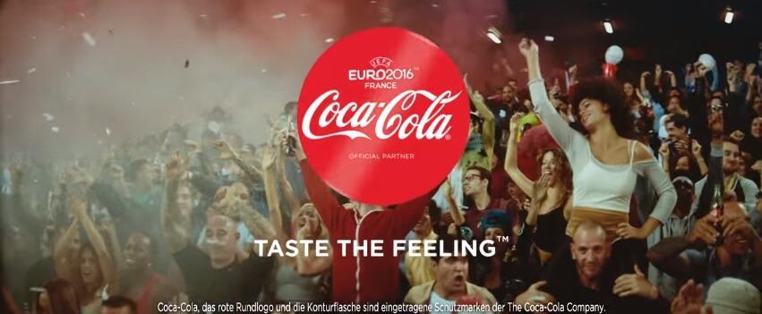 coca cola uefa euro 2016 song werbung. Black Bedroom Furniture Sets. Home Design Ideas