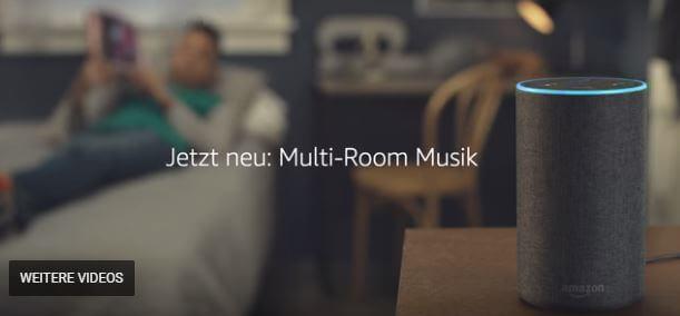 Amazon Echo - Lied aus der Werbung Januar 2018