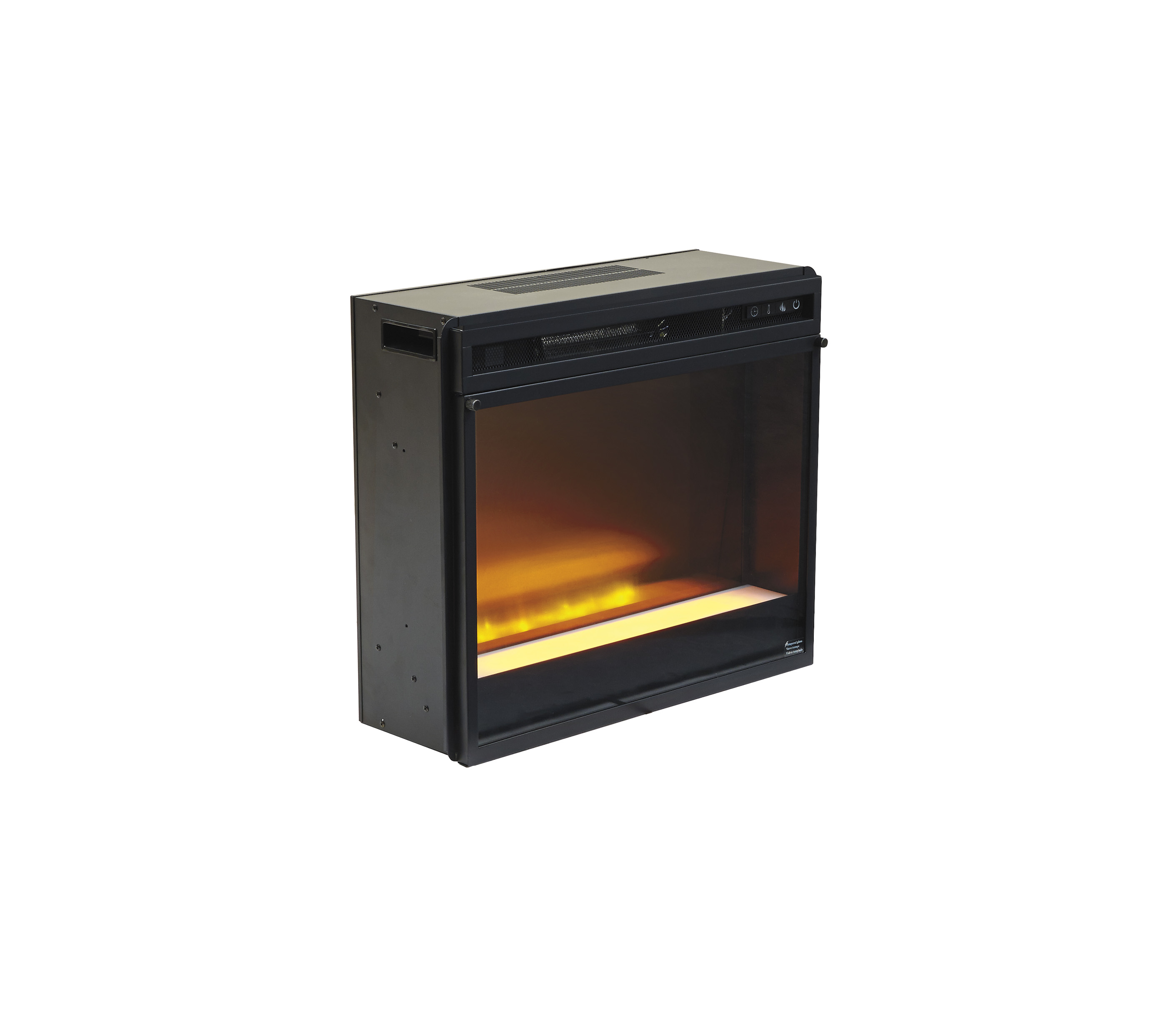 Entertainment Accessories Fireplace Insert GlassStone In