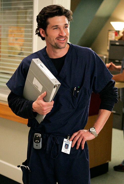 How To Dress Like Dr Derek Shepherd Greys Anatomy TV
