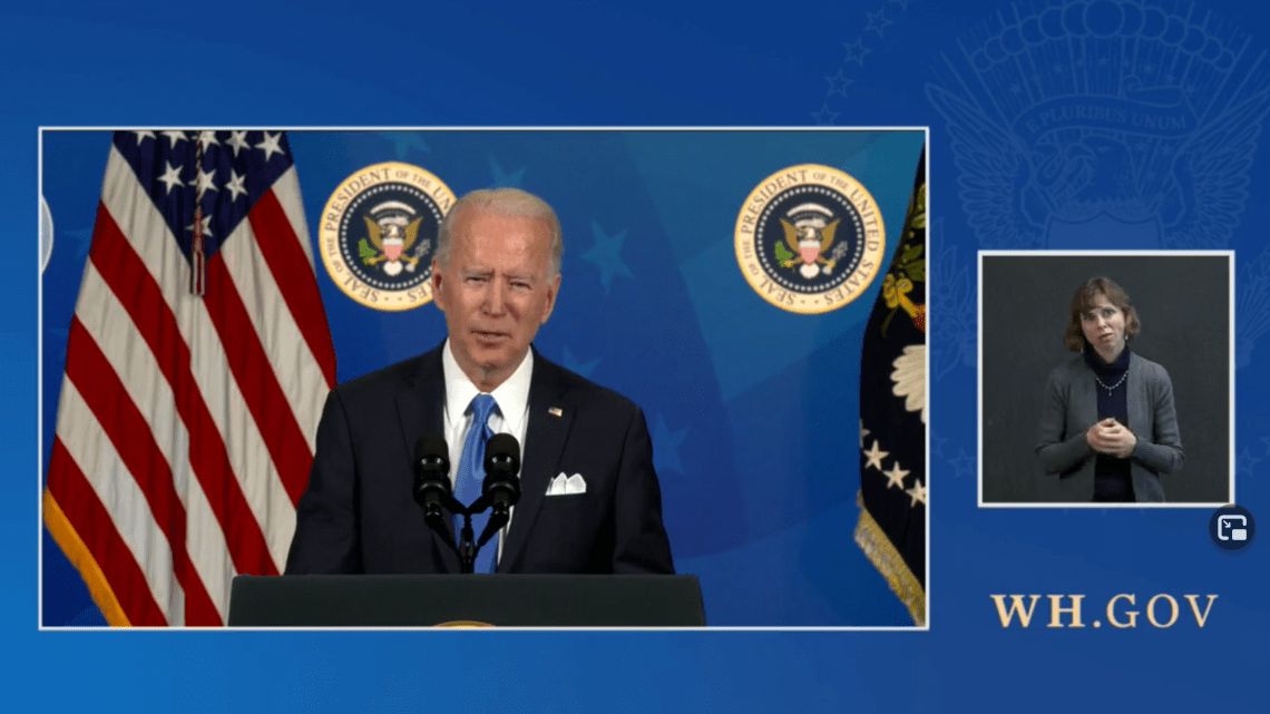 President Biden Hosts an Event with the CEOs of Johnson & Johnson.