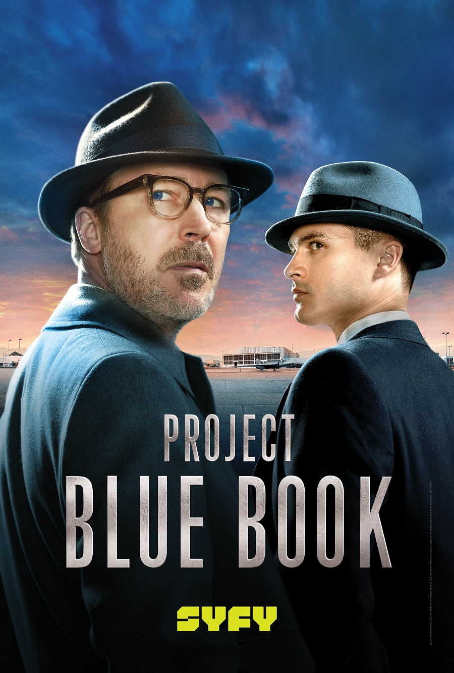 SYFY UK Acquires Historys UFO Drama Project Blue Book