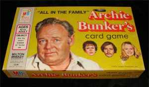 All In The Family Archie Bunker Card Game