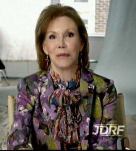 Mary Tyler Moore - JDRF Ambassador