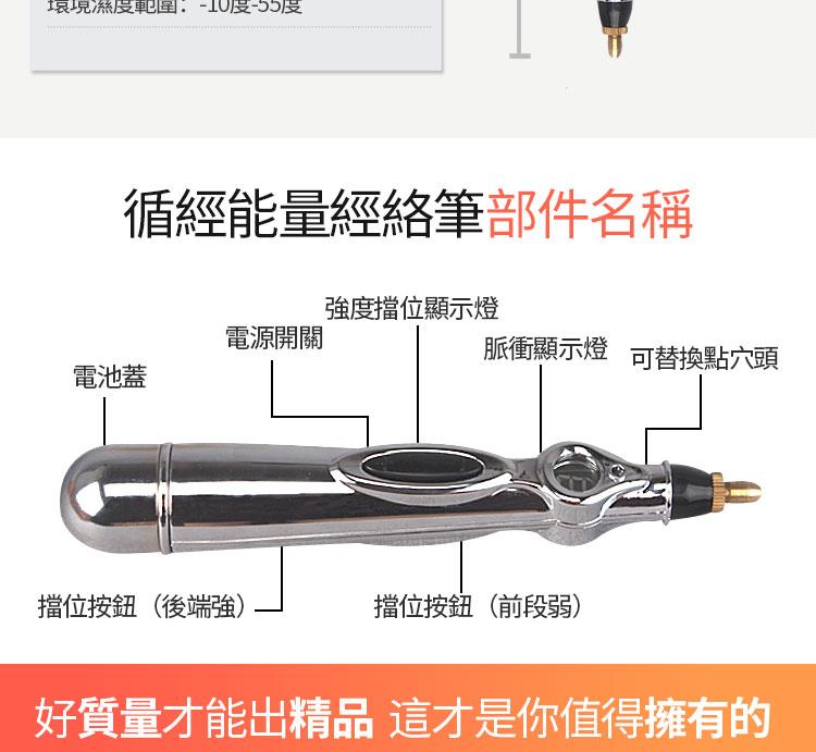 【超舒爽】日本專利自動檢測穴位按摩經絡筆