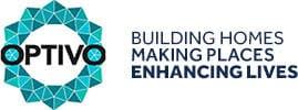 OPTIVO logo - building homes, making places, enhancing lives
