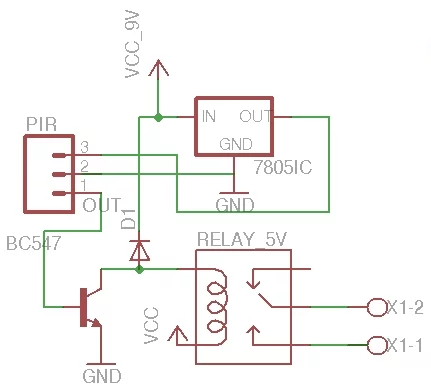 x 10 motion detector wiring diagram  warner winch a2000