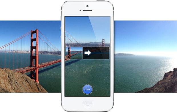 panorama in iphone5