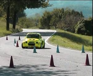Slalom automobilistico Favale