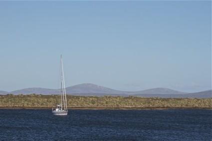 Pelagic anchored in Richard Harbour
