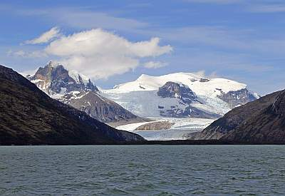 Mount Darwin from the Beagle Channel