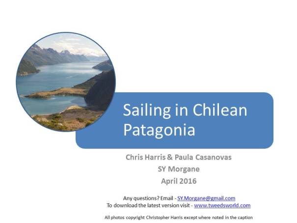 Slide 1 - Sailing in Chilean Patagonia by .