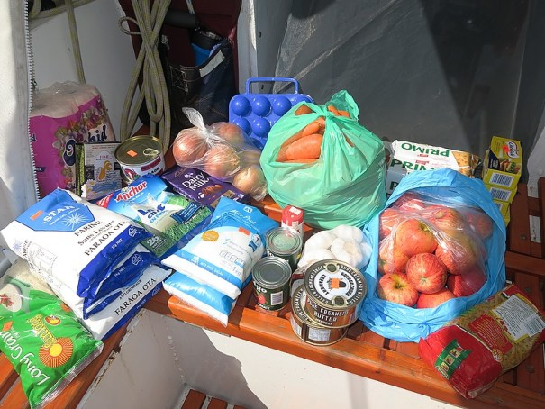 120USD groceries by .