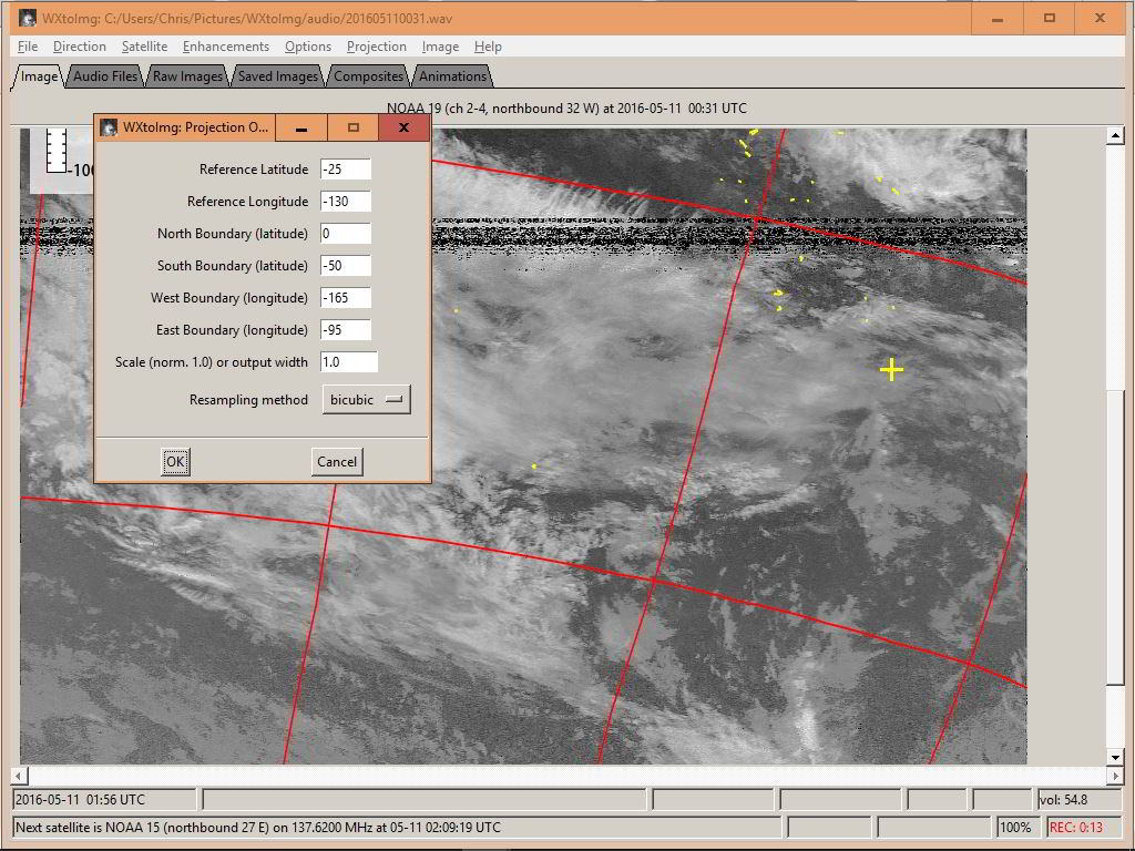 Overlay GRIB data on satellite images in OpenCPN – Tweed's World