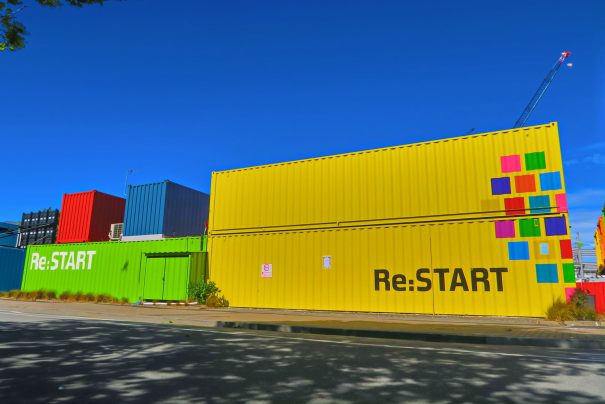 Re:Start container shopping centre