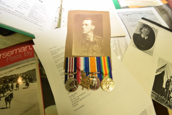 Byron 'Jack' Bayly's medals