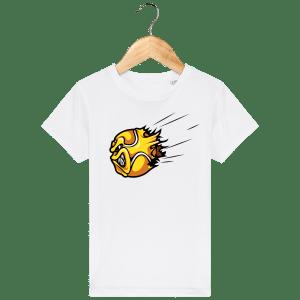 T-Shirt Balle Fusée Enfant - white_face