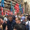 Firenze: la protesta dei lavoratori delle province in città e in tutta la Toscana