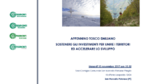 Appennino Tosco – Emiliano. Sostenere gli investimenti per unire i territori ed accelerare lo sviluppo