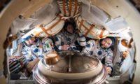 Atterrata la Soyuz con l'italiano Nespoli, AstroPaolo