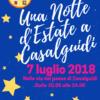 Una Notte d'Estate a Casalguidi, Sabato 7 luglio 2018