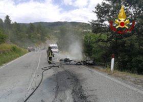 Un morto e un ferito grave nello scontro fra due moto