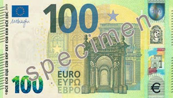 Le nuove banconote da 100 e 200 euro presentate dalla Bce