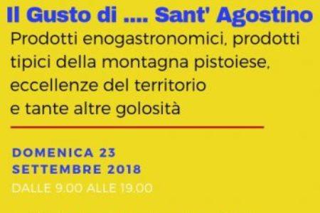 Pistoia. IL GUSTO DI SANT'AGOSTINO - 23/09/2018