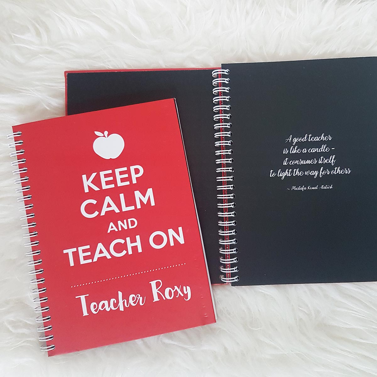 Personalised Notebook for Teacher Singapore Teacher Appreciation Gift