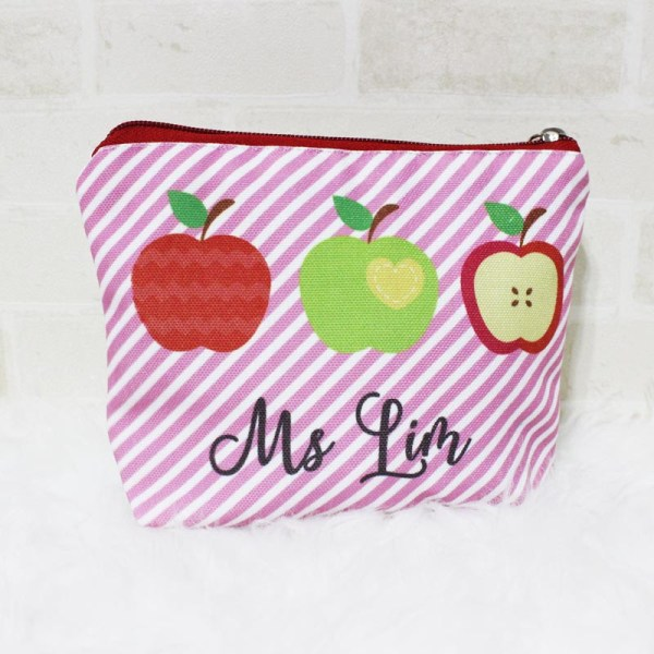 Custom Teachers Day Gift Singapore Personalised Pouch