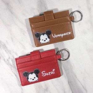 customised card holder singapore with keychain