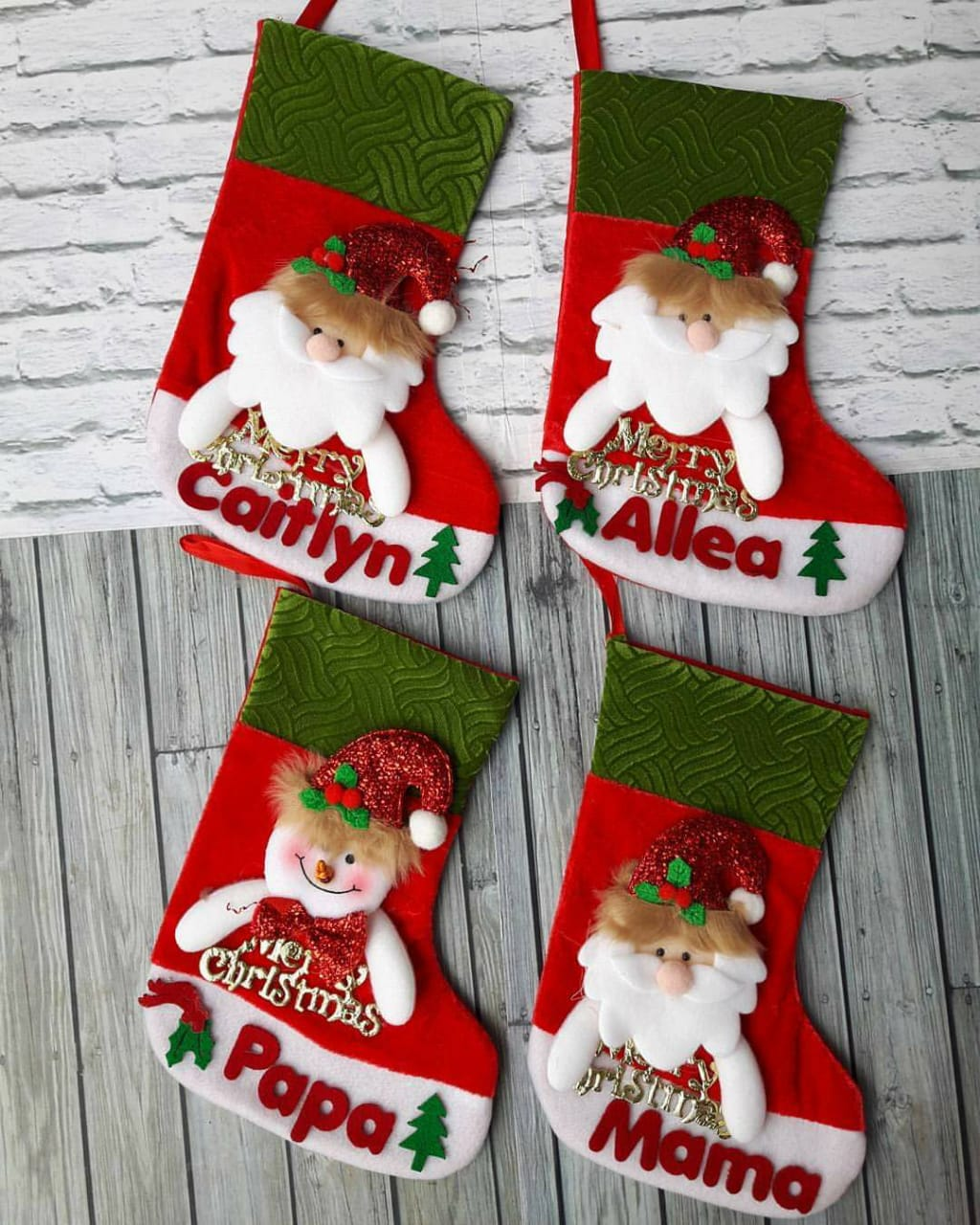 Christmas Socks Singapore - Personalised Christmas Stockings SG