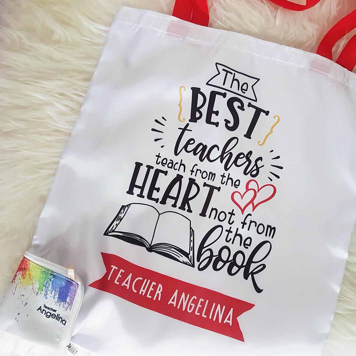 Eco Friendly Bag - Teacher Foldable Shopping Bag